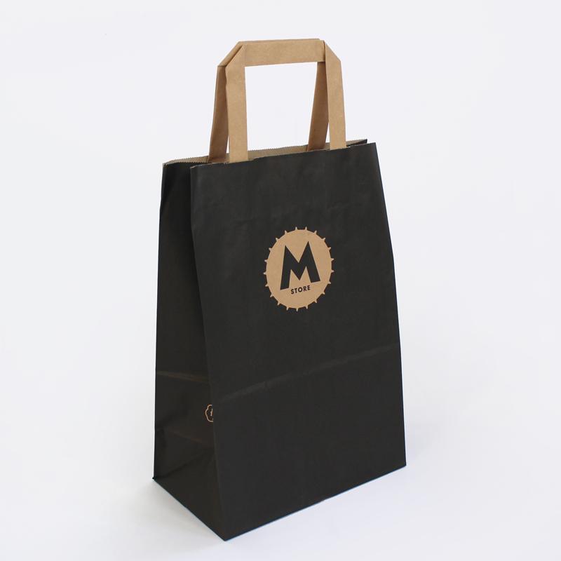 bolsa negra asa plana Moritz