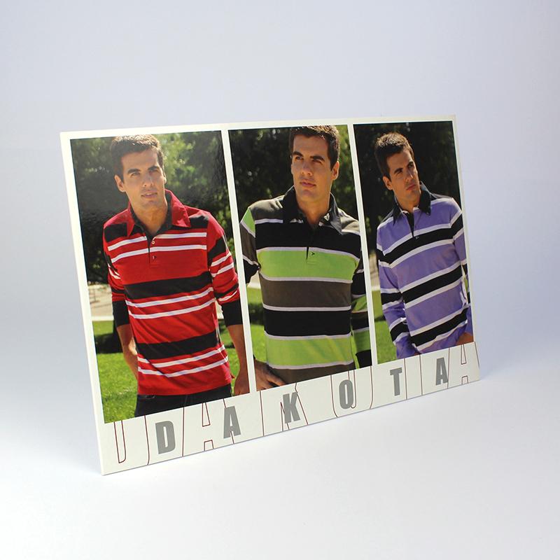 Brintel display ropa hombre forrado con peana acabado brillo diseño - diseño gráfico - artes gráficas - imprenta - etiquetas - bolsas - packaging - display - imagen - plv
