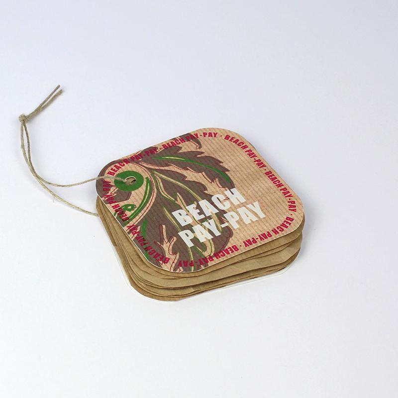 Brintel etiqueta ropa hangtag multiple de papel kraft y carton especial diseño - diseño gráfico - artes gráficas - imprenta - etiquetas - bolsas - packaging - display - imagen - plv
