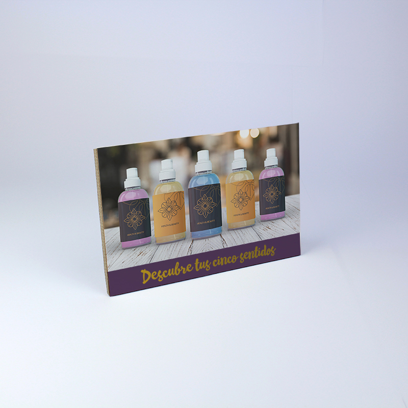 Brintel display horizontal con peana diseño - diseño gráfico - artes gráficas - imprenta - etiquetas - bolsas - packaging - display - imagen - plv