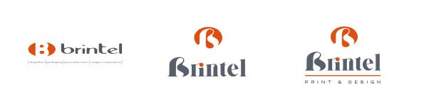 Brintel restyle logo logotipo marca, imagen corporativa naming brand
